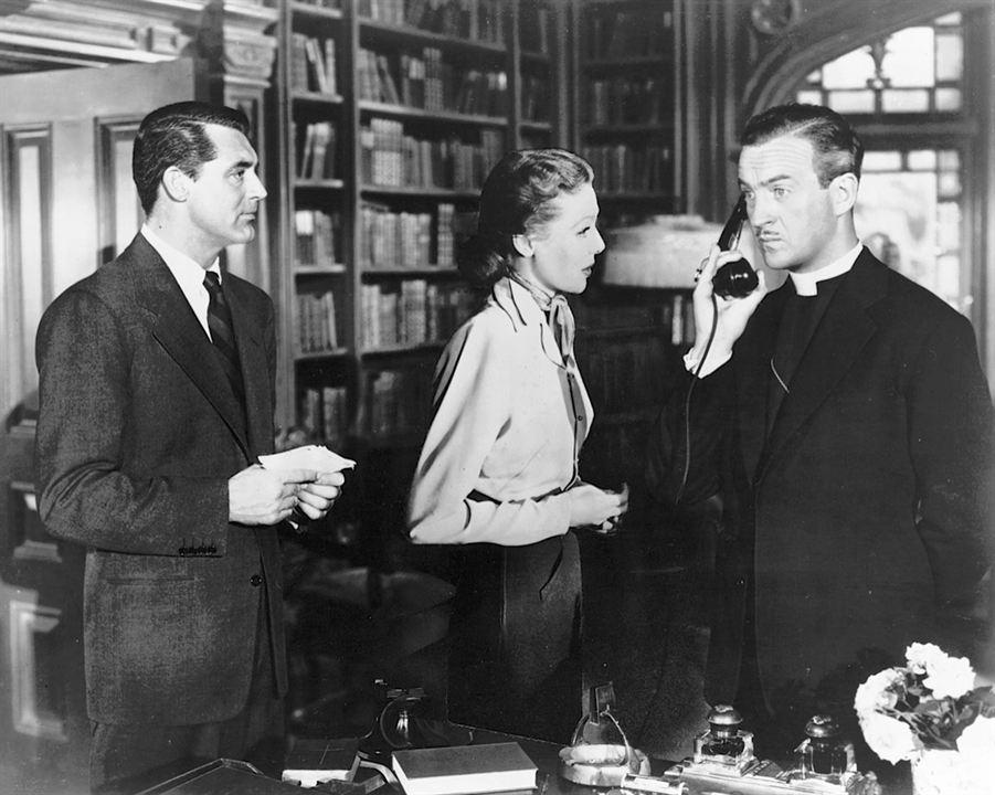 Fotograf Cary Grant, David Niven, Loretta Young