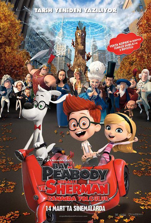 Bay Peabody ve Merakli Sherman: Zamanda Yolculuk : Afis