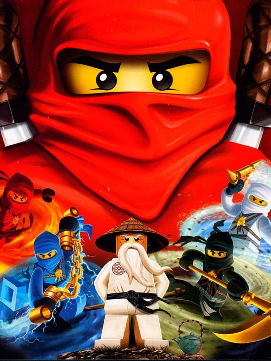 LEGO Ninjago Filmi : Afis