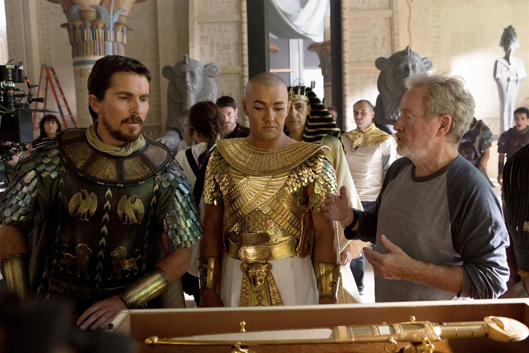 Exodus: Tanrilar ve Krallar : Fotograf Christian Bale, Joel Edgerton, Ridley Scott