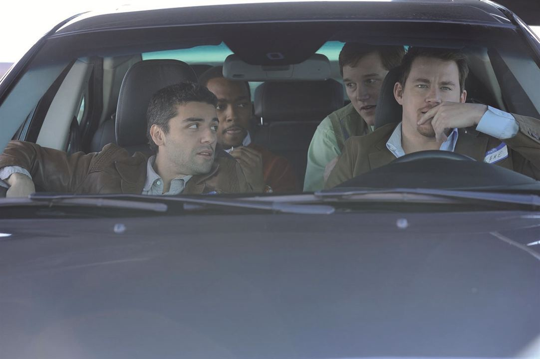 Fotograf Anthony Mackie, Channing Tatum, Chris Pratt, Oscar Isaac