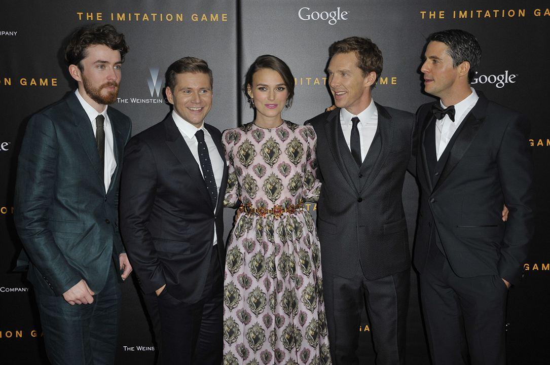 The Imitation Game: Enigma : Vignette (magazine) Allen Leech, Benedict Cumberbatch, Keira Knightley, Matthew Goode