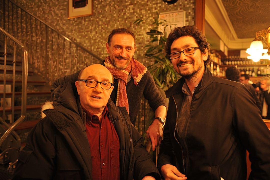 Fotograf David Foenkinos, Jean-Paul Rouve, Michel Blanc
