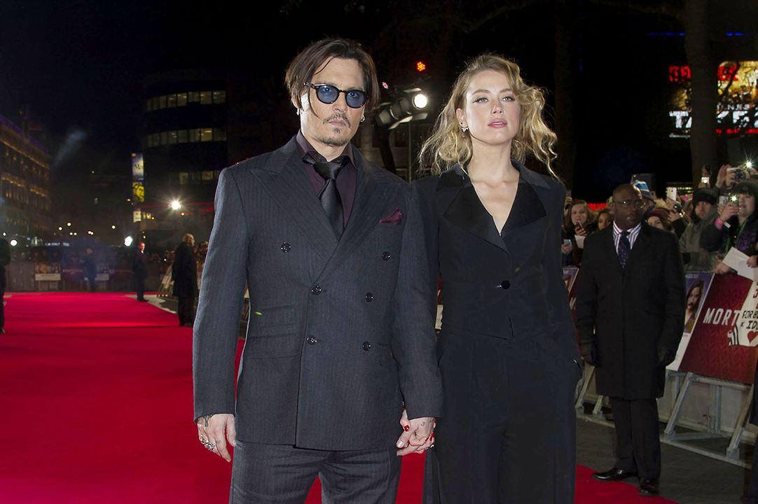 Üçkagitçi Mortdecai : Vignette (magazine) Amber Heard, Johnny Depp