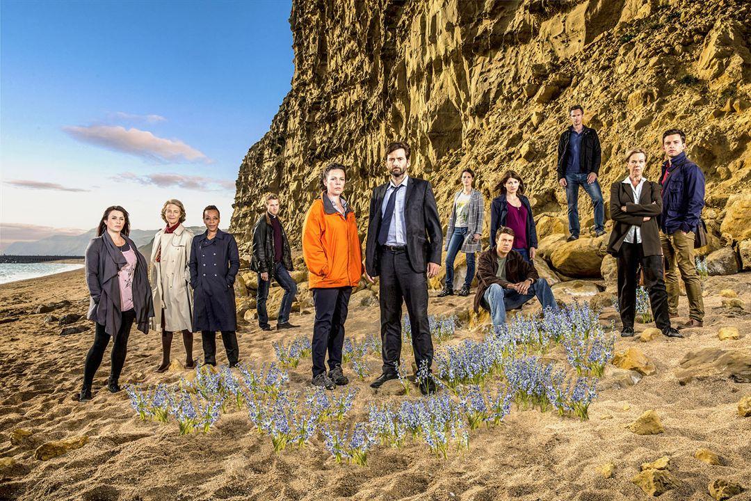 Fotograf Andrew Buchan, Arthur Darvill, Carolyn Pickles, Charlotte Rampling, David Tennant