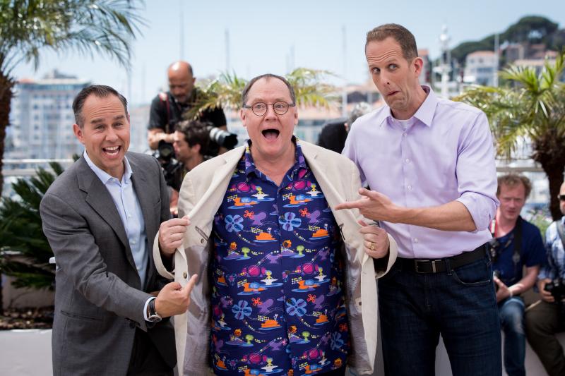 Ters Yüz : Vignette (magazine) John Lasseter, Jonas Rivera, Pete Docter