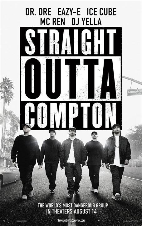 Straight Outta Compton : Afis