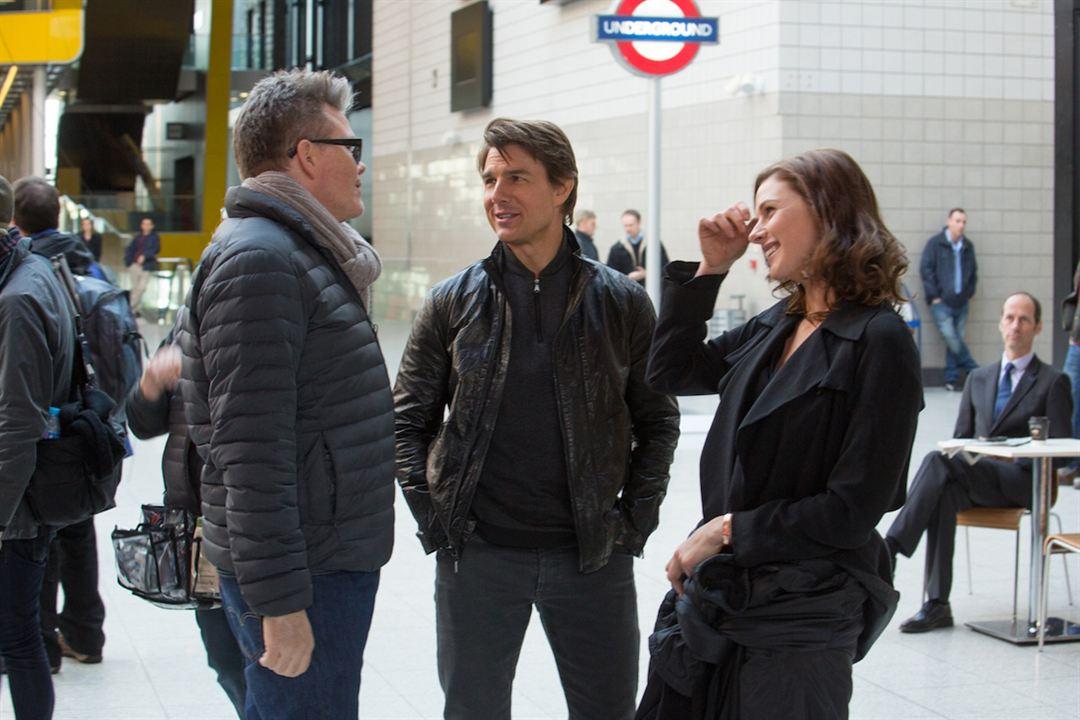 Görevimiz Tehlike 5 : Fotograf Christopher McQuarrie, Rebecca Ferguson, Tom Cruise