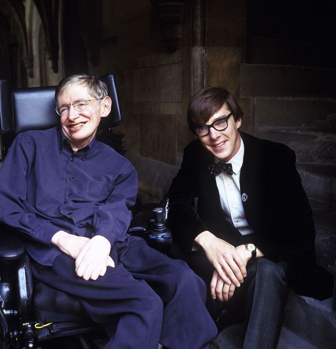 Fotograf Benedict Cumberbatch, Stephen Hawking