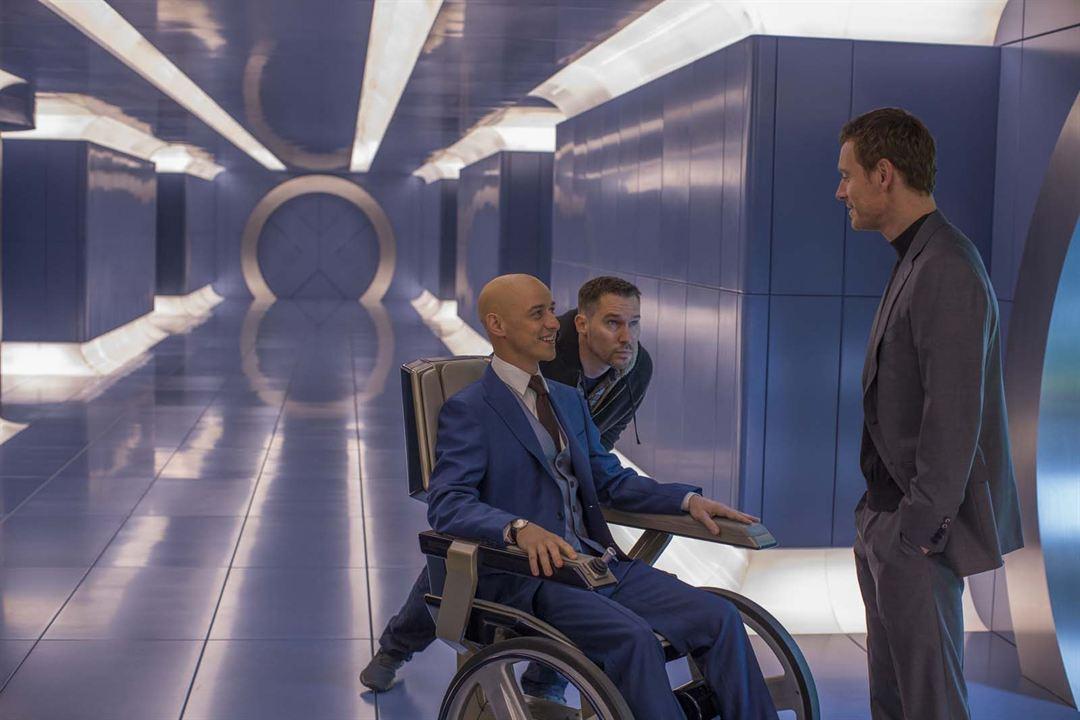 X-Men: Apocalypse : Fotograf Bryan Singer, James McAvoy, Michael Fassbender