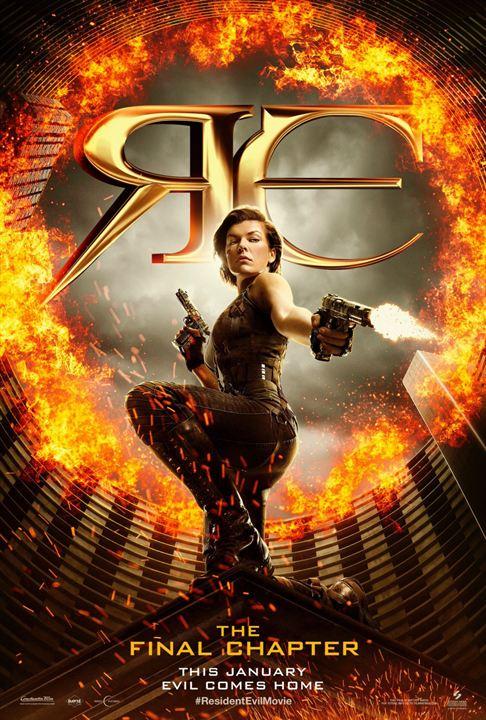 Resident Evil: Son Bölüm : Afis