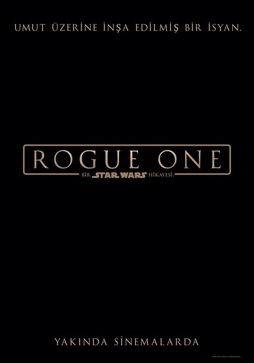 Rogue One: Bir Star Wars Hikayesi : Afis