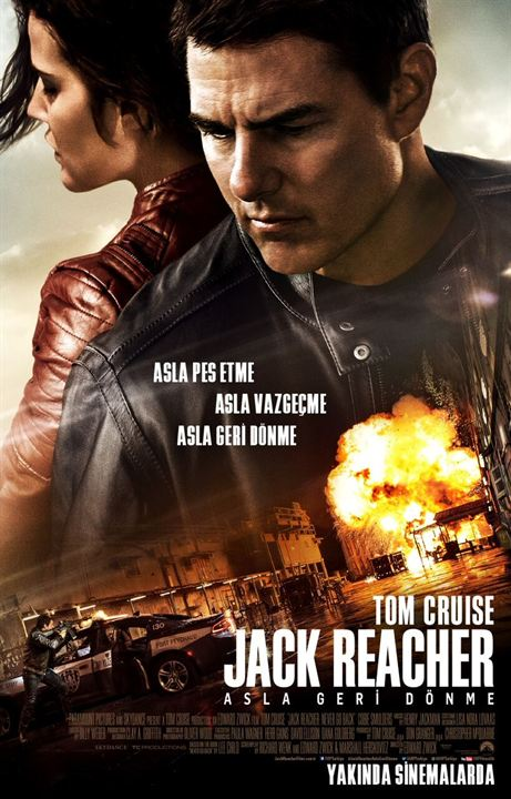 Jack Reacher: Asla Geri Dönme : Afis