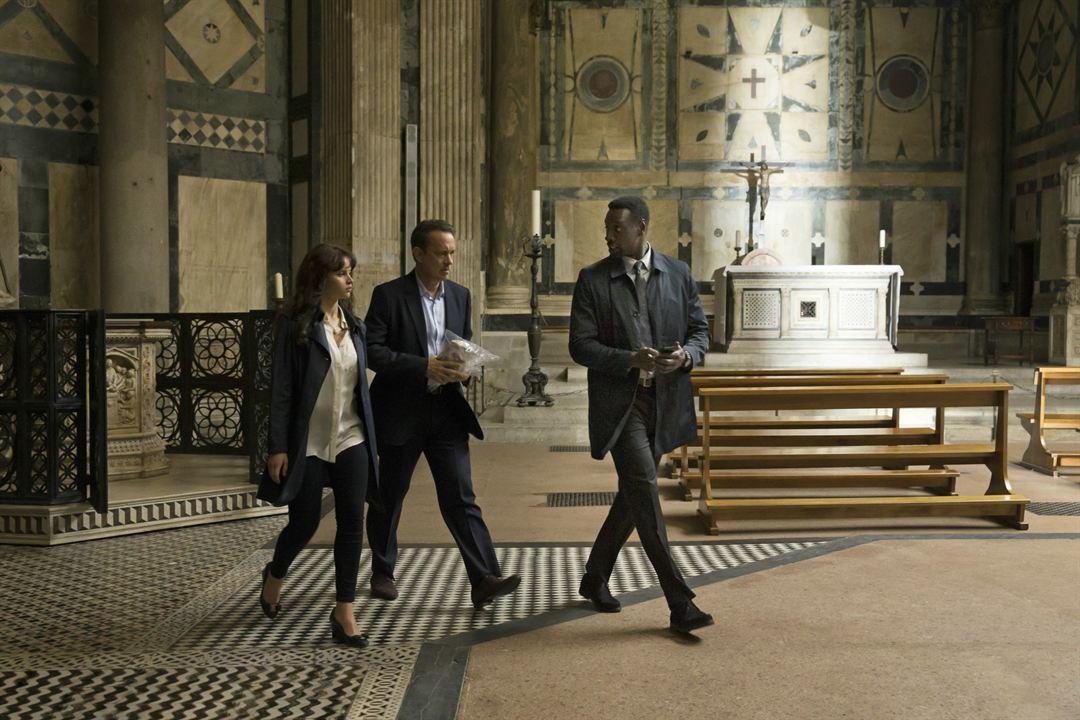 Cehennem : Fotograf Felicity Jones, Omar Sy, Tom Hanks