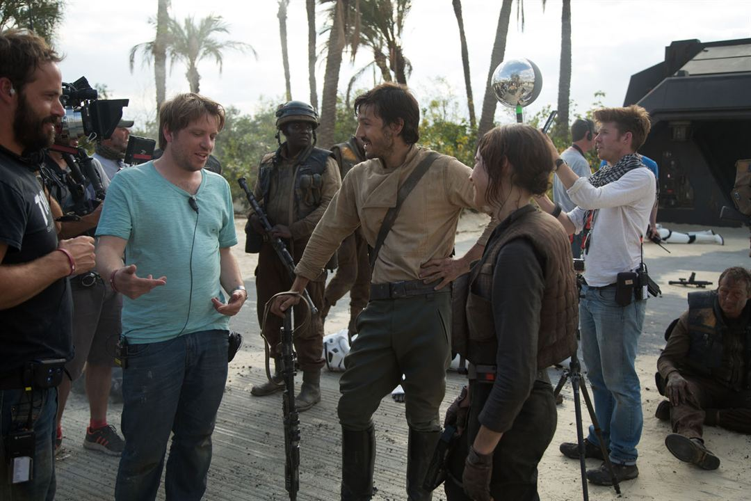 Rogue One: Bir Star Wars Hikayesi : Fotograf Diego Luna, Felicity Jones, Gareth Edwards (II)