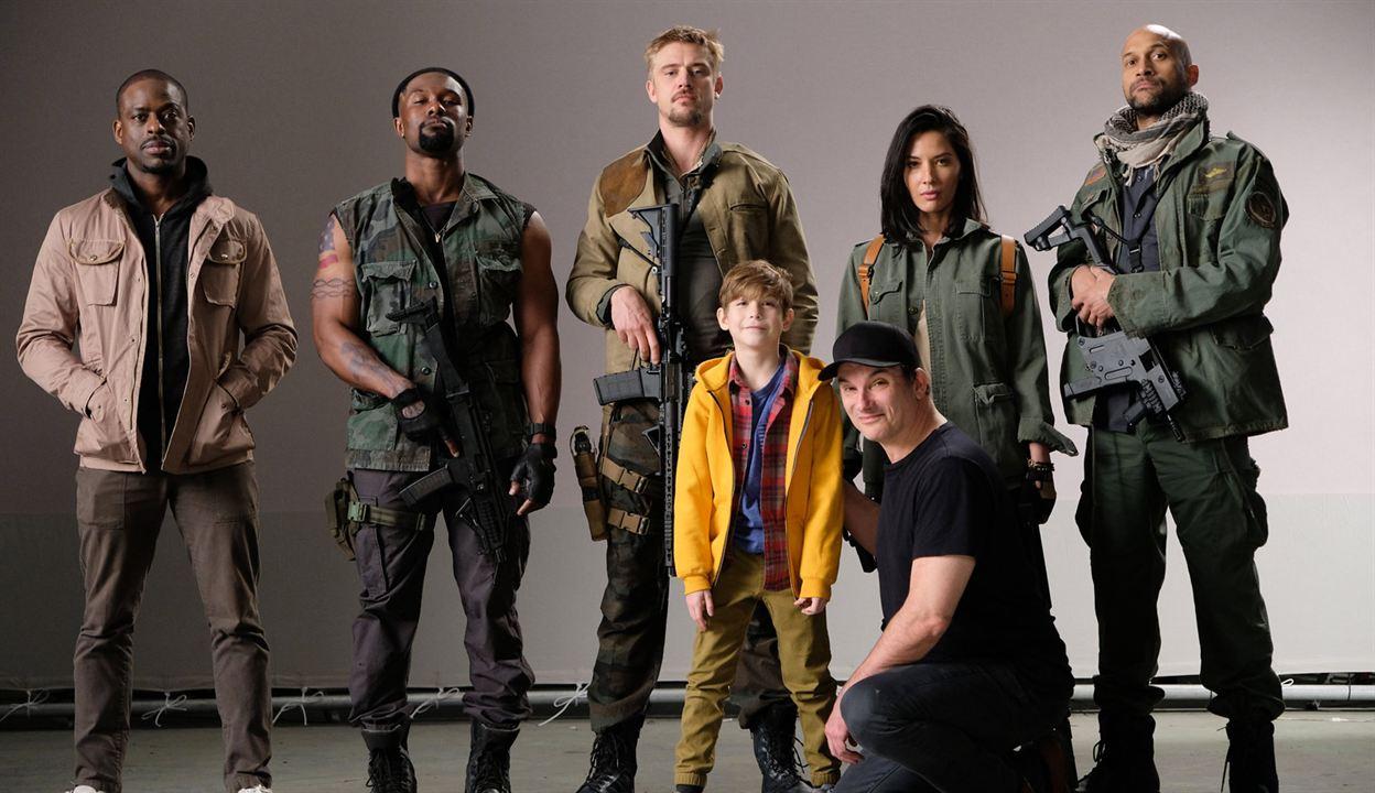 The Predator : Vignette (magazine) Boyd Holbrook, Jacob Tremblay, Keegan-Michael Key, Olivia Munn, Shane Black