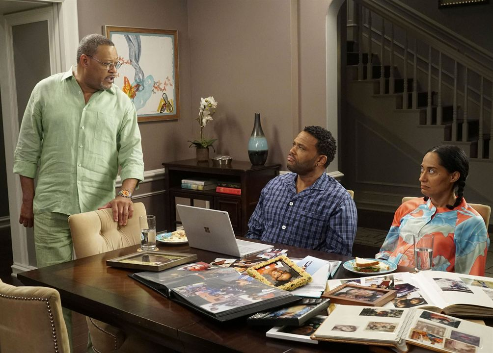 Fotograf Anthony Anderson, Laurence Fishburne, Tracee Ellis Ross