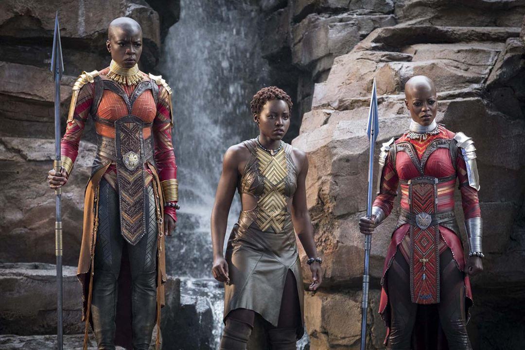 Black Panther : Fotograf Danai Gurira, Florence Kasumba, Lupita Nyong'o