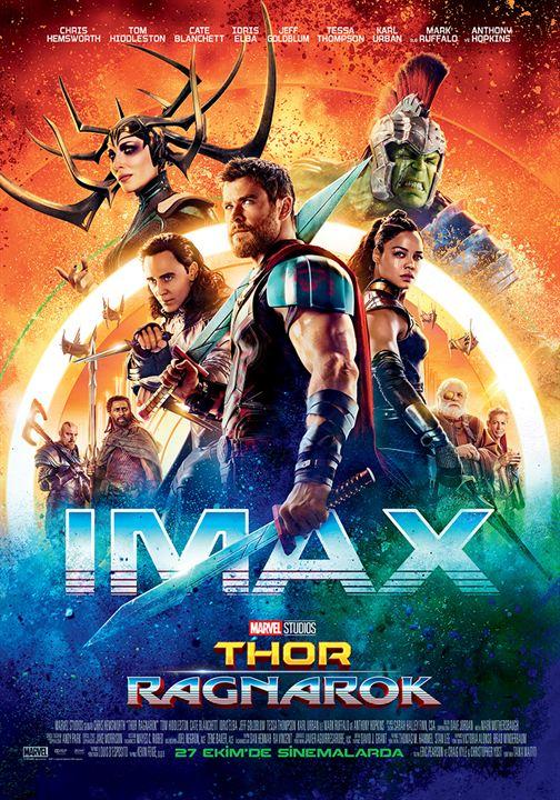 Thor: Ragnarok : Afis