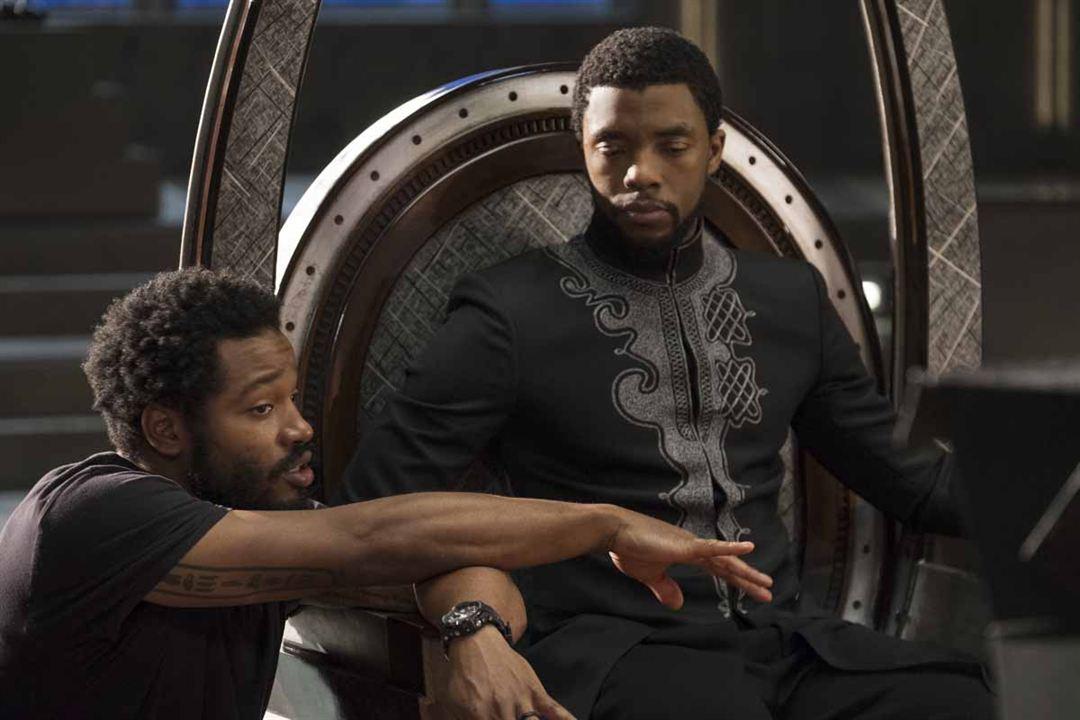 Black Panther : Fotograf Chadwick Boseman, Ryan Coogler