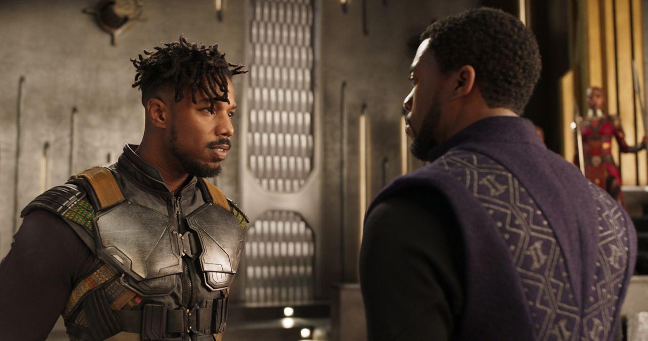 Black Panther : Fotograf Chadwick Boseman, Michael B. Jordan