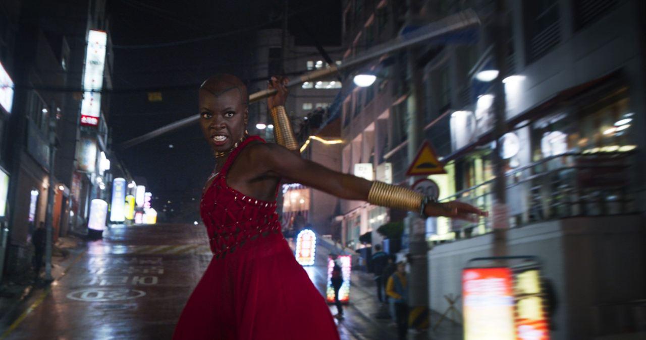 Black Panther : Fotograf Danai Gurira