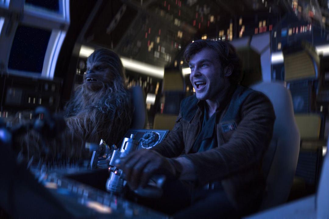 Han Solo: Bir Star Wars Hikayesi : Fotograf Alden Ehrenreich, Joonas Suotamo