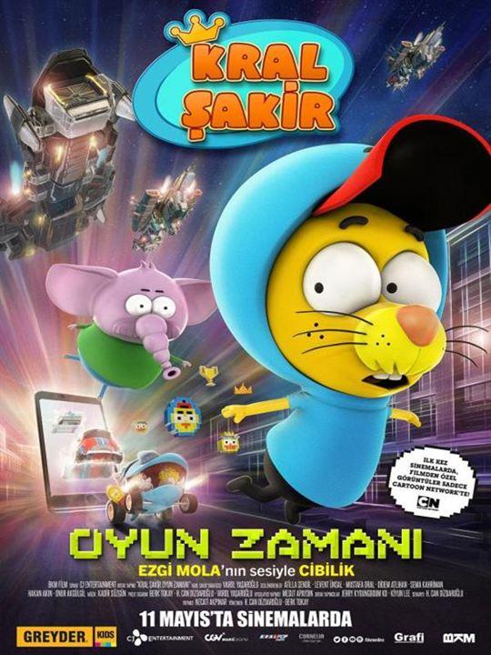 Kral Sakir Oyun Zamani : Afis