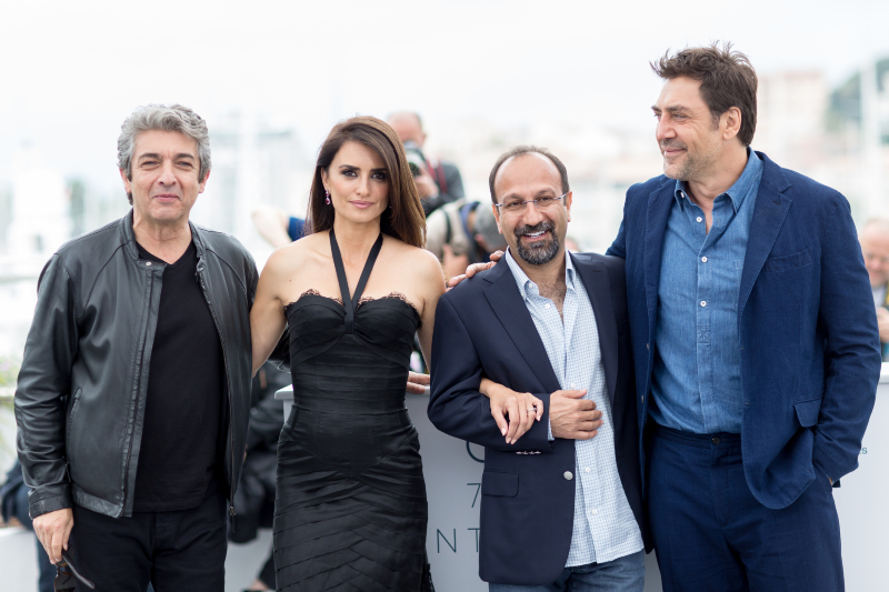 Herkes Biliyor : Vignette (magazine) Asghar Farhadi, Javier Bardem, Penélope Cruz, Ricardo Darín