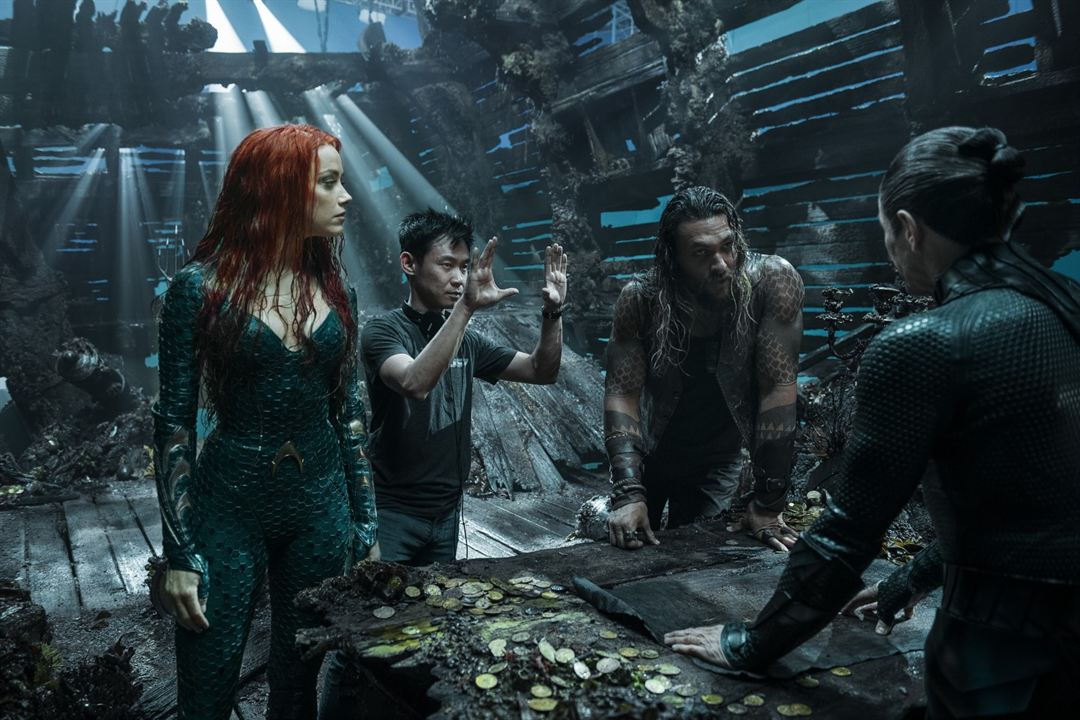 Aquaman : Fotograf Amber Heard, James Wan, Jason Momoa
