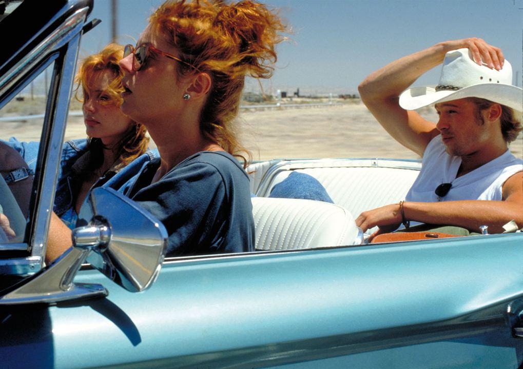 Thelma ve Louise : Fotograf Brad Pitt, Geena Davis, Susan Sarandon