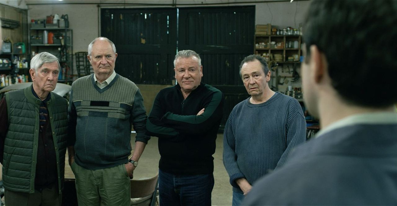 King Of Thieves : Fotograf Charlie Cox, Jim Broadbent, Paul Whitehouse, Ray Winstone, Tom Courtenay