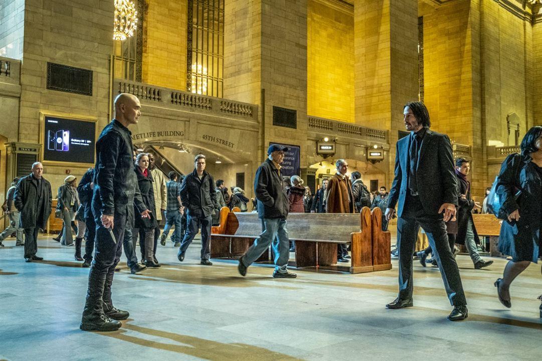 John Wick: Chapter 3 - Parabellum : Fotograf Keanu Reeves, Mark Dacascos