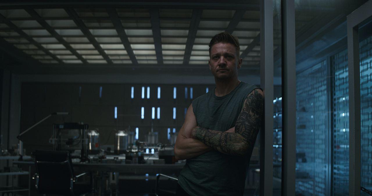 Avengers: Endgame : Fotograf Jeremy Renner
