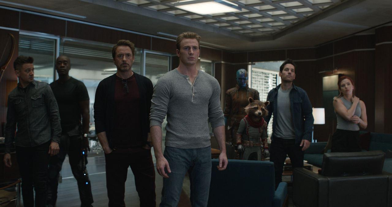 Avengers: Endgame : Fotograf Chris Evans, Don Cheadle, Jeremy Renner, Karen Gillan, Paul Rudd