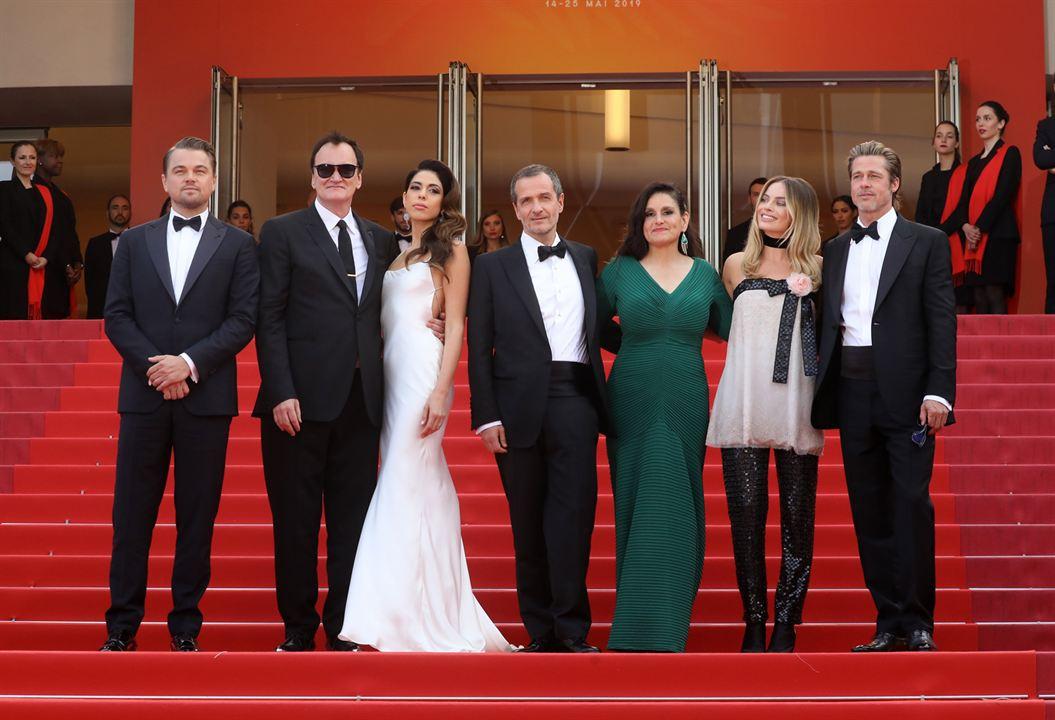 Bir Zamanlar... Hollywood'da : Vignette (magazine) Brad Pitt, Leonardo DiCaprio, Margot Robbie, Quentin Tarantino, Shannon McIntosh