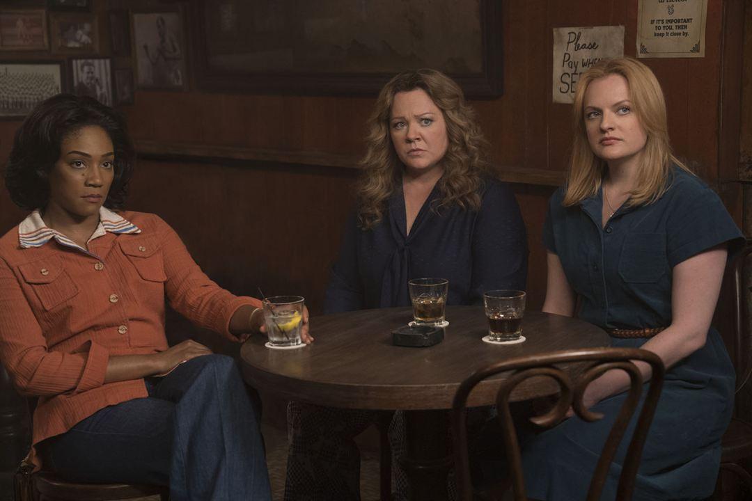 Suç Kraliçeleri : Fotograf Elisabeth Moss, Melissa McCarthy, Tiffany Haddish