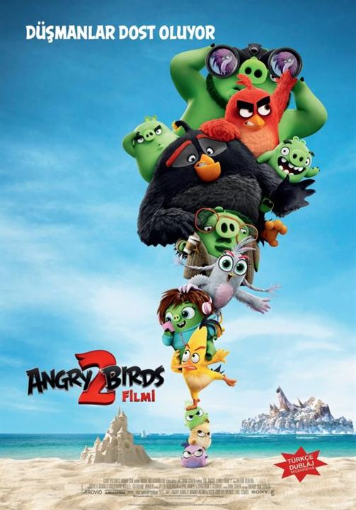 Angry Birds Filmi 2 : Afis