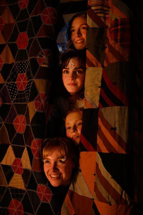 Küçük Kadinlar : Fotograf Eliza Scanlen, Emma Watson, Florence Pugh, Saoirse Ronan