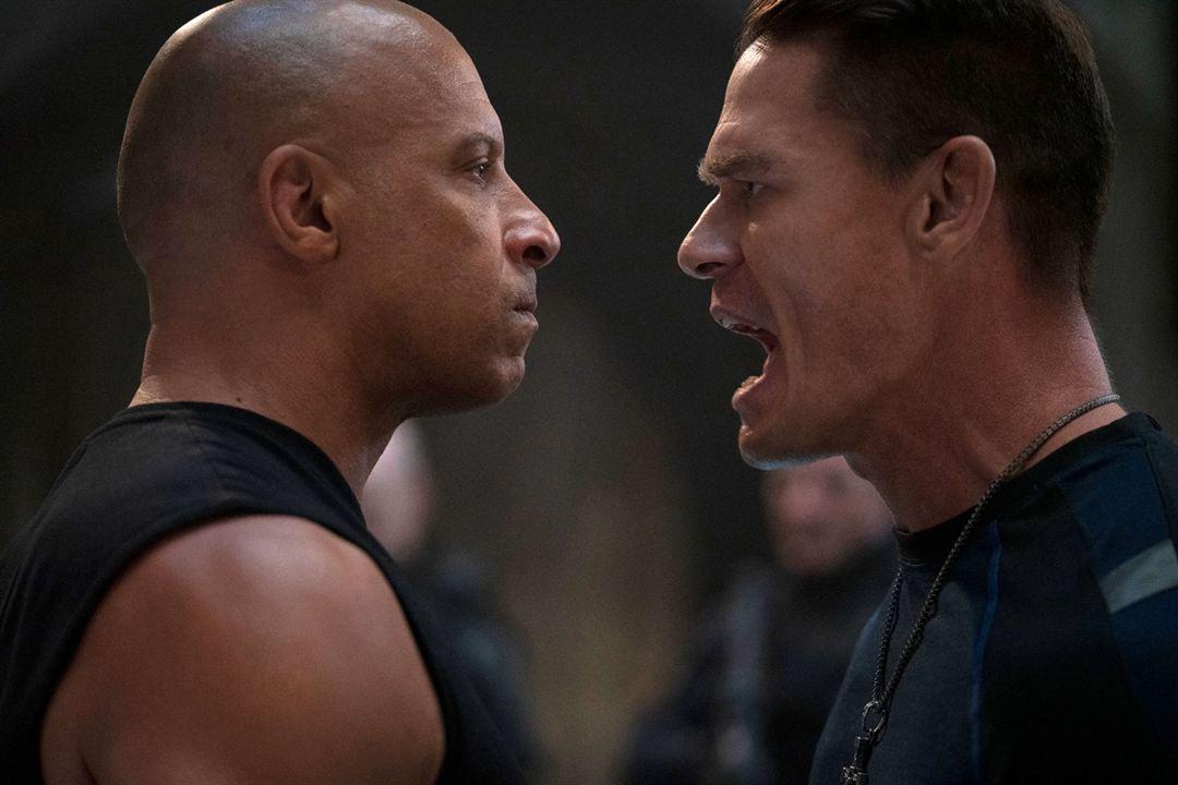 Hizli ve Öfkeli 9 : Fotograf John Cena, Vin Diesel