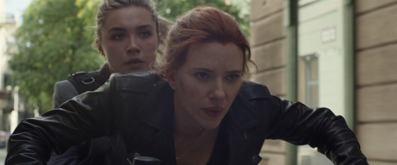 Black Widow : Fotograf Florence Pugh, Scarlett Johansson