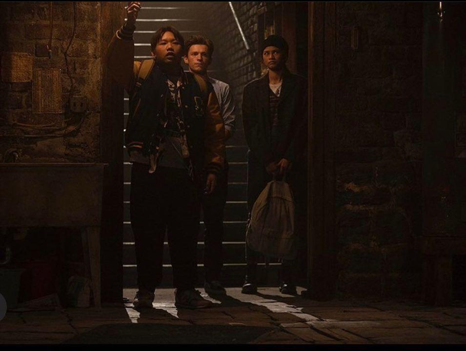 Spider-Man: No Way Home: Jacob Batalon,  Zendaya, Tom Holland