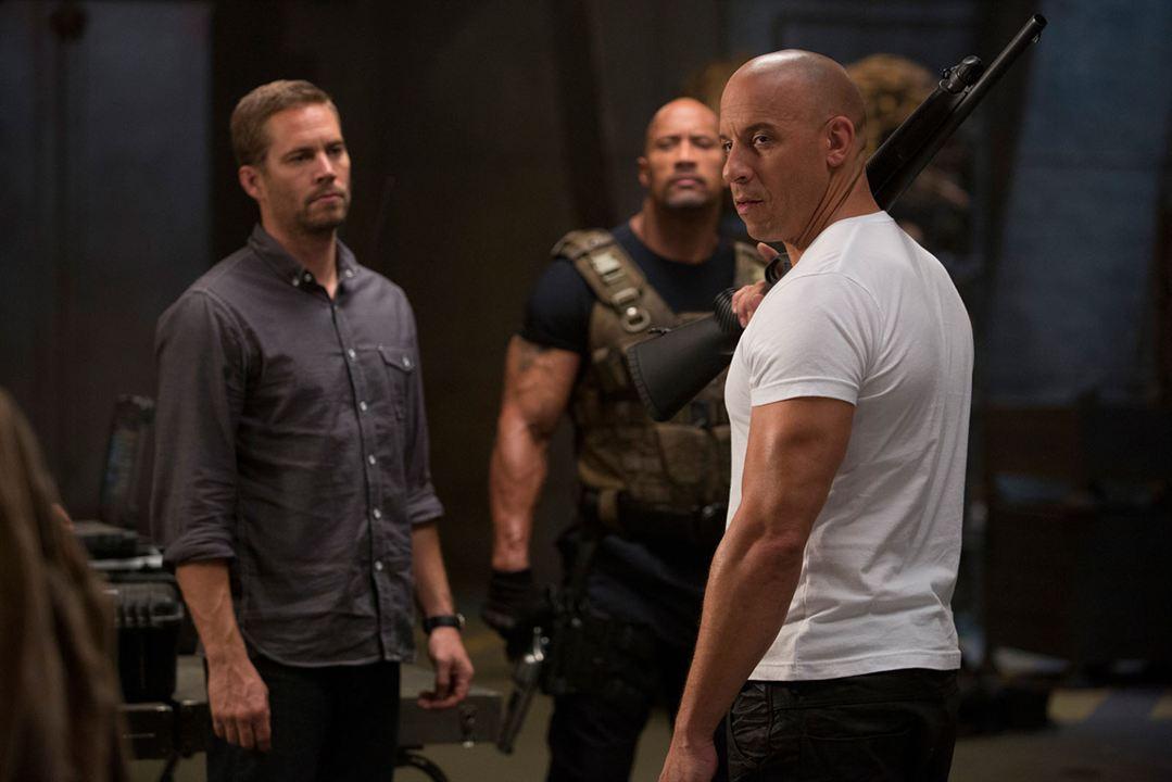 Hizli ve Öfkeli 6 : Fotograf Dwayne Johnson, Paul Walker, Vin Diesel