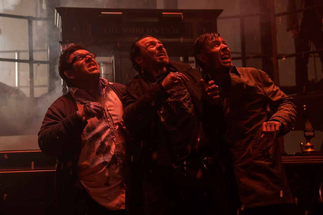 The World's End : Fotograf Nick Frost, Paddy Considine, Simon Pegg