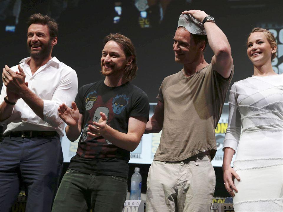 X-Men: Geçmis Günler Gelecek : Vignette (magazine) Hugh Jackman, James McAvoy, Jennifer Lawrence, Michael Fassbender