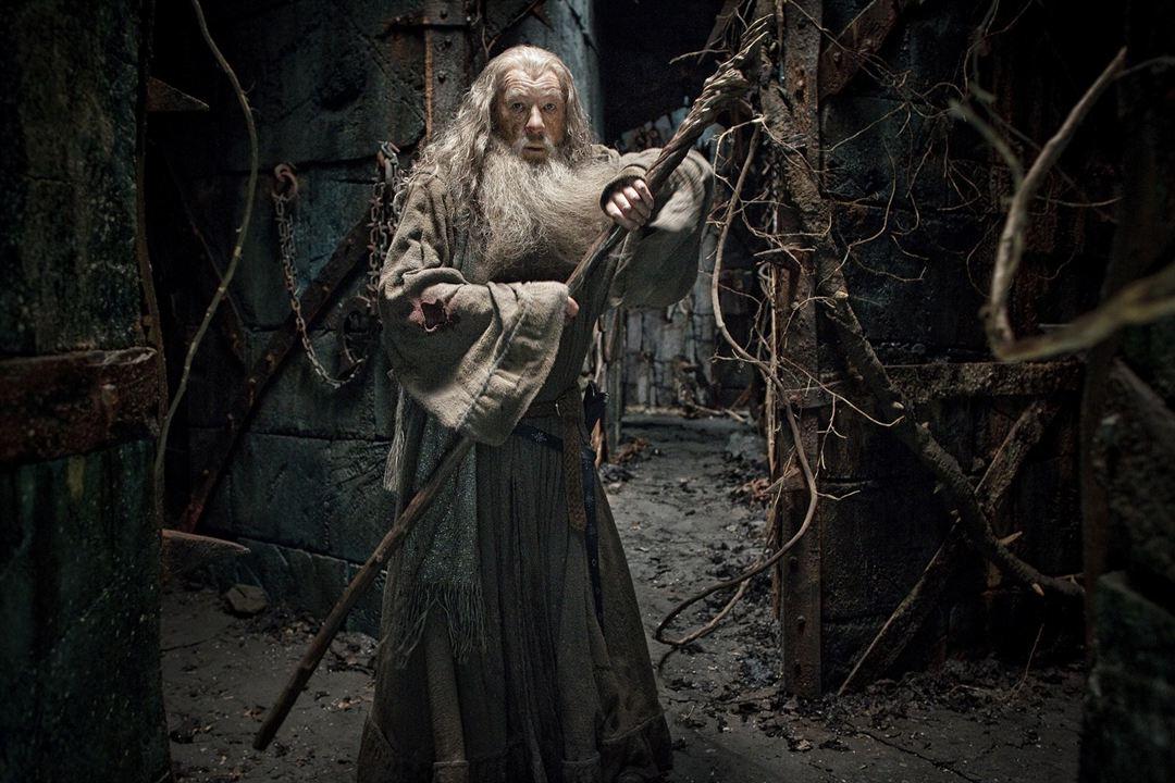 Hobbit: Smaug'un Çorak Topraklari : Fotograf Ian McKellen