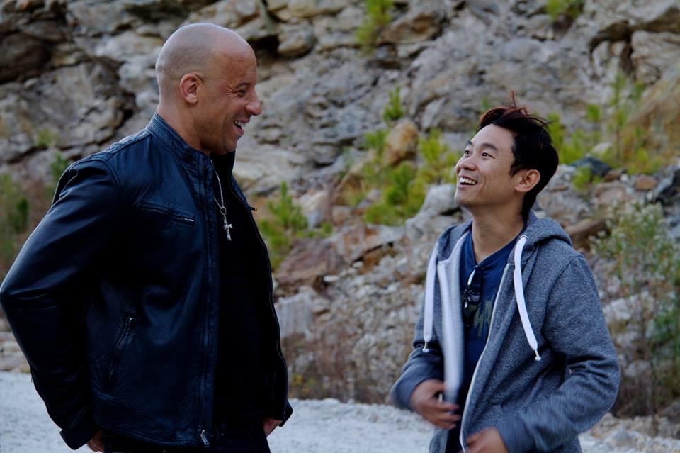 Hizli ve Öfkeli 7 : Fotograf James Wan, Vin Diesel