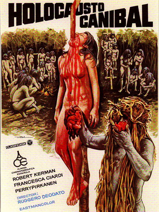 Cannibal Holocaust : Afis