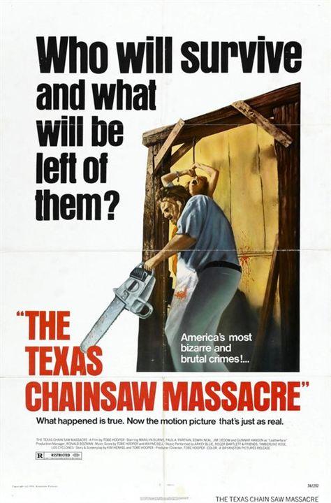 Teksas Katliami : Afis