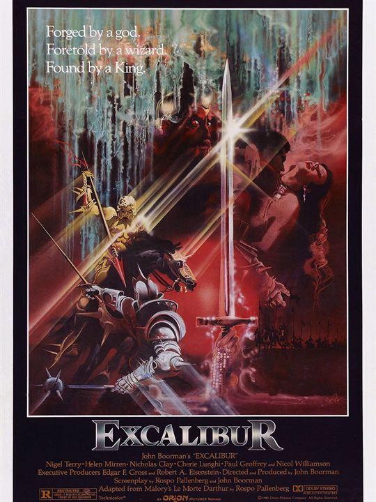Excalibur : Afis